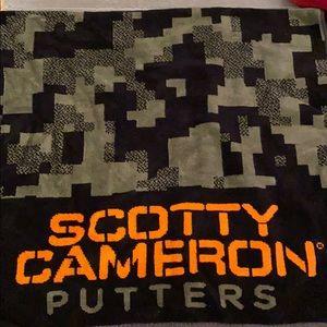 Scotty Cameron Putters Golf Towel Collectors item